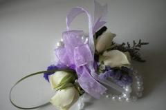 wrist corsage mini roses