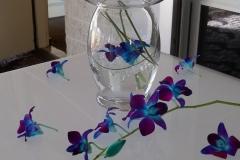 blue by le bouquet blanc