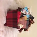 Plaid Gift Basket