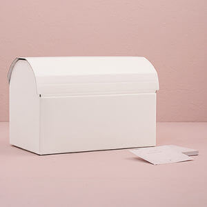 cardboard chest wishing well
