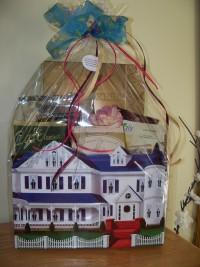 Comfy home gift basket