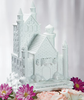 Fairy Tale Dreams Castle Cake Topper