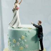 Climbing Groom Cake Topper