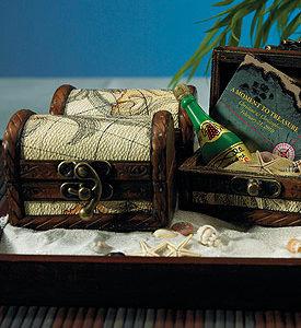 Miniature Treasure Chests set of six
