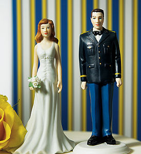 Military Army Dress Uniform cake top