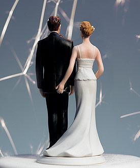 The Love Pinch Bridal Couple Figurine