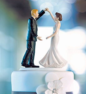 Dancing the Night Away cake topper
