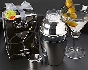 """Celebrate! Martini Style"" Cocktail Shaker Set"