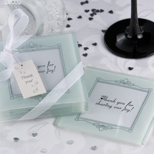 Memories Forever Frosted Glass Photo Coaster