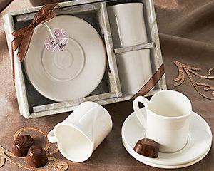 Two Hearts Espresso Cup Set