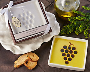 Vineyard Olive Oil and Balsamic Plate