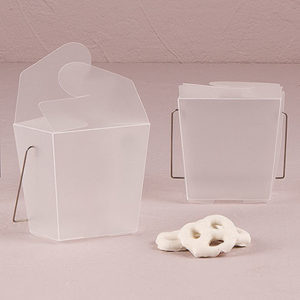 Asian Take Out favor boxes
