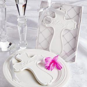 Blessings Elegant Porcelain Cross