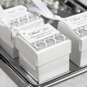 Damask Favor Cards