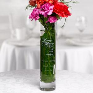 In Loving Memory Vase