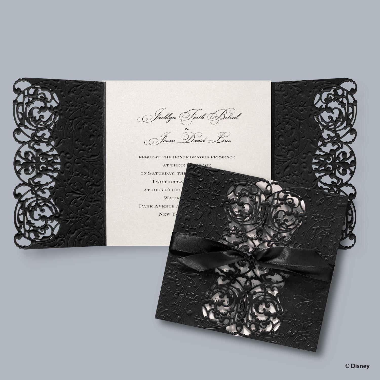 Wedding invitations flip book