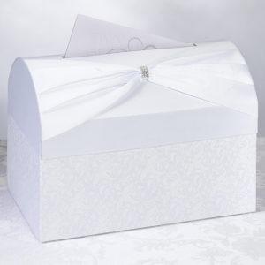 White sash Gift Card Box