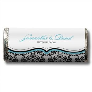Nut Free Gourmet Milk Chocolate Bar, wedding favor chocolates